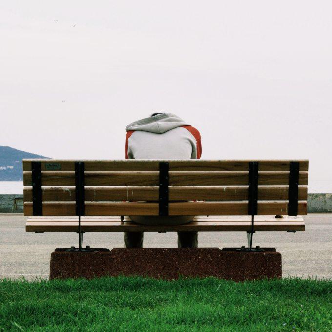 alone-bench-grass-66757